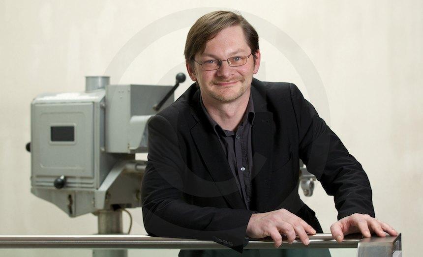 Christian Zimmermann, Leiter der Geschäftsstelle Filmverband Sachsen e.V., 2013, Foto: b. s. m.