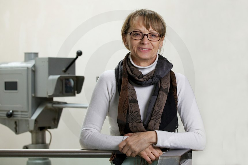 Sonja Mader, Mitarbeiterin beim Filmverband Sachsen e.V., 2013, Foto: b.s.m.