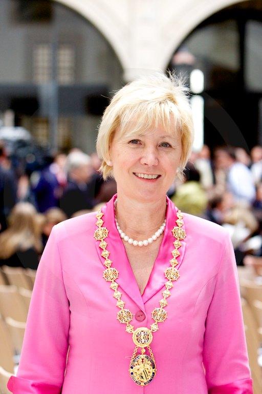 Hema Orosz, Oberbürgermeisterin der Stadt Dresden, 5. Juni 2009 im Residenzschloss Dresden, Foto: b. s. m.